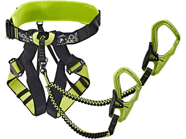 Klettersteigset Ocun Test : Edelrid jester comfort harness night oasis campz.de
